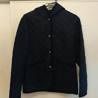 ムジルシリョウヒン(MUJI (無印良品))の美品 無印良品 キルティング ジャケット ネイビー (ブルゾン)