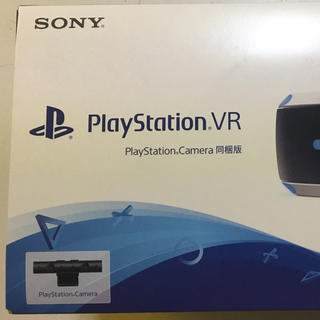 プレイステーションヴィーアール(PlayStation VR)の【新品未開封】新型PlayStation VR Camera同梱版(家庭用ゲーム機本体)