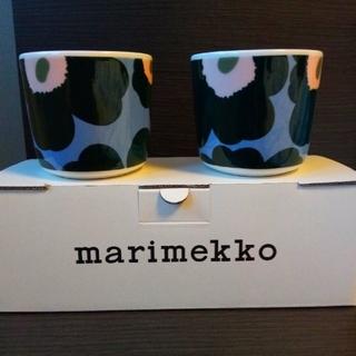 マリメッコ(marimekko)の【新品】marimekko ラテマグ ペア(グラス/カップ)
