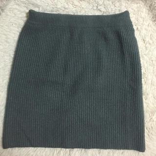 ローリーズファーム(LOWRYS FARM)のニットスカート(ミニスカート)