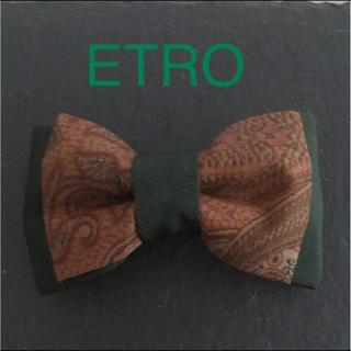 エトロ(ETRO)のエトロ リボンバレッタ(バレッタ/ヘアクリップ)