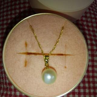 エィス(A)の高級貴金属店本物パールK18ネックレス18金刻印有2WEY豪華真珠芸能人と結婚祝(ネックレス)