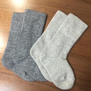 ムジルシリョウヒン(MUJI (無印良品))の無印☆15〜17㎝靴下2枚セット(靴下/タイツ)