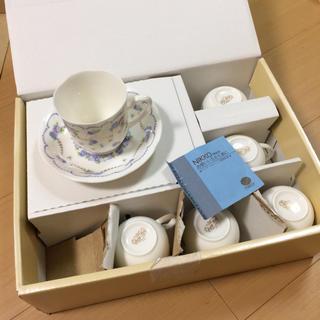 ニッコー(NIKKO)のコーヒーカップ&ソーサー 6セット(グラス/カップ)