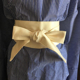 シマムラ(しまむら)のサッシュベルト1回着用美品(ベルト)