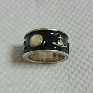 ヴィヴィアンウエストウッド(Vivienne Westwood)のヴィヴィアン★キングリング 黒(リング(指輪))