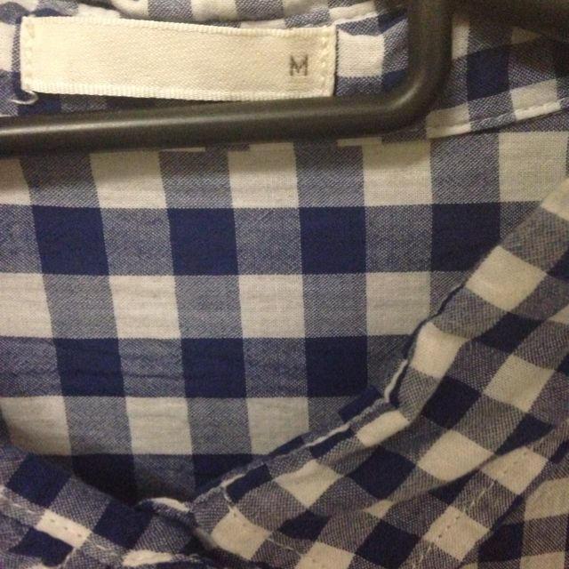 GU(ジーユー)のg.u. ギンガムチェックシャツ レディースのトップス(シャツ/ブラウス(半袖/袖なし))の商品写真