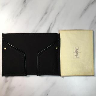 イヴサンローランボーテ(Yves Saint Laurent Beaute)のイヴ・サンローラン カードケース、手鏡(名刺入れ/定期入れ)