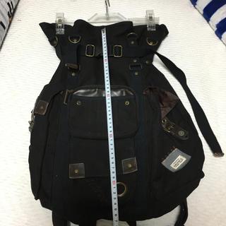 ディバイス(device.)のゆにと様専用❤️DEVICE   リュック 布製   黒 (バッグパック/リュック)