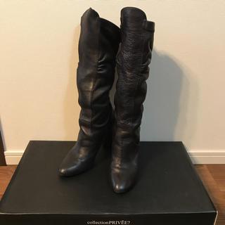 アッシュペーフランス(H.P.FRANCE)の《美品》collection PRIVEE? ブーツ アッシュペーフランス(ブーツ)