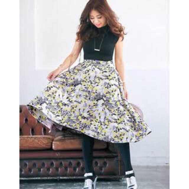Chesty(チェスティ)のMiss Adora ミスアドラ ジャガードスカート chesty チェスティ  レディースのスカート(ひざ丈スカート)の商品写真