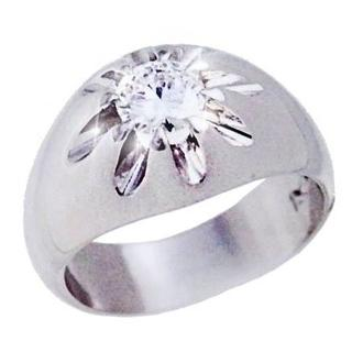 鑑別書付★天然ダイヤモンド 0.65ct プラチナ PT850 リング 16号(リング(指輪))