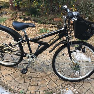 エリーサーブ(ELIE SAAB)の子供 キッズ SAAB 自転車 ギア メーター付(自転車)