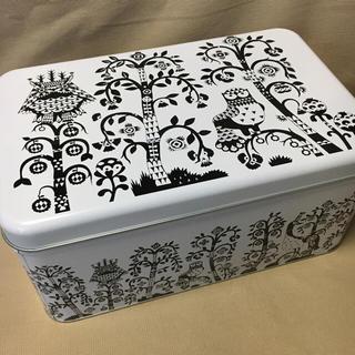イッタラ(iittala)の未使用 iittala Taika メタルボックス イッタラ タイカ ブラック(テーブル用品)