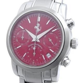 ジラールペルゴ(GIRARD-PERREGAUX)のジラールペルゴ フェラーリ クロノグラフ メンズ 自動巻き デイト 8020 赤(腕時計(アナログ))