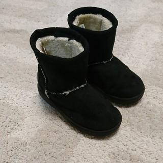 ムジルシリョウヒン(MUJI (無印良品))の無印良品 ムートンブーツ 14-15(ブーツ)