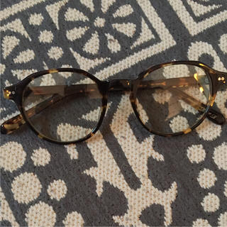 イエナ(IENA)のIENA 丸メガネ 新品同様 購入価格30000円 べっ甲 眼鏡(サングラス/メガネ)