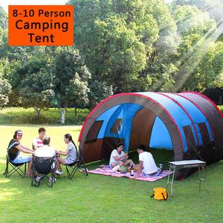 コールマン(Coleman)の新品 日本未発売 テント キャンプ 8〜10人 防水 防風(テント/タープ)