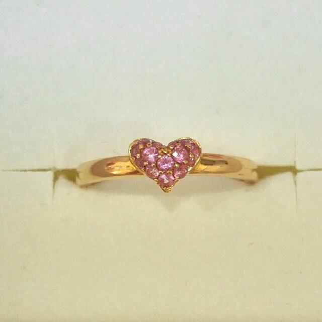 PonteVecchio(ポンテヴェキオ)の♡ポンテヴェキオ♡ピンクサファイア リング レディースのアクセサリー(リング(指輪))の商品写真