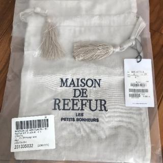 メゾンドリーファー(Maison de Reefur)のMAISON DE REEFUR♡ロゴ タッセルポーチS/巾着(ポーチ)