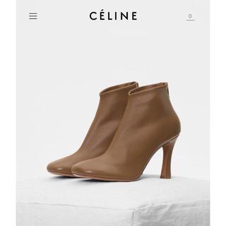 セリーヌ(celine)の新品未使用 正規品 CELINE グローブブーティ ショートブーツ 37 (ブーティ)