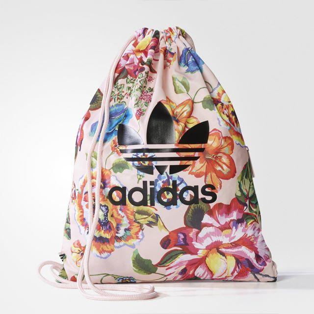 adidas(アディダス)の【新品・即発送OK】adidas オリジナルス ジムバッグ Farm フローラル レディースのバッグ(リュック/バックパック)の商品写真
