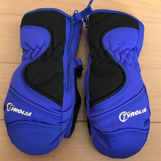 チロリア(TYROLIA)のチロリア スキー用手袋 ミトン XXSサイズ(手袋)