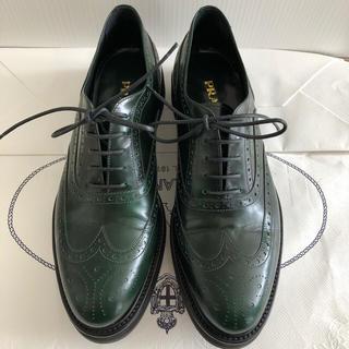 プラダ(PRADA)のプラダ オックスフォード レースアップシューズ PRADA(ローファー/革靴)