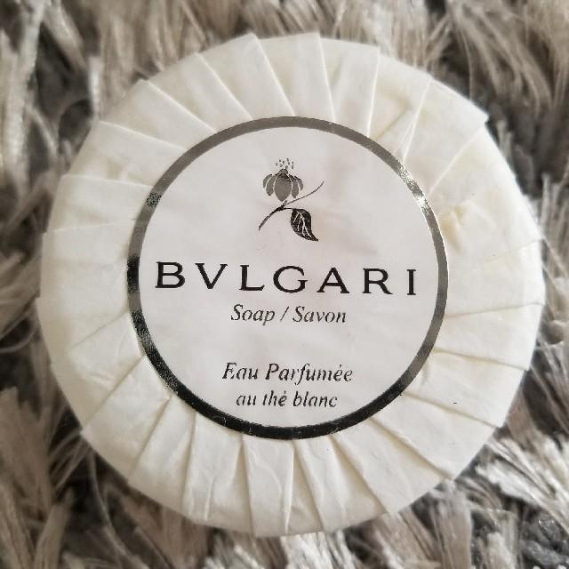 BVLGARI(ブルガリ)の新品☆ブルガリ高級石鹸 コスメ/美容のボディケア(ボディソープ / 石鹸)の商品写真