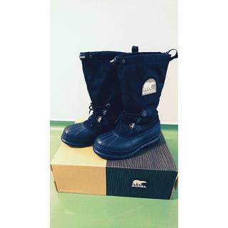 ソレル(SOREL)のさきんこさん専用 ソレル ブーツ BLACK/NOIR  27cm(長靴/レインシューズ)