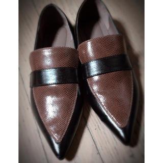 ランダ(RANDA)のRANDA ランダ ポインテッドローファー(ローファー/革靴)