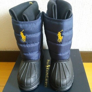 ポロラルフローレン(POLO RALPH LAUREN)の新品未使用☆箱付き☆ラルフローレンのスノーブーツ 17㎝(ブーツ)