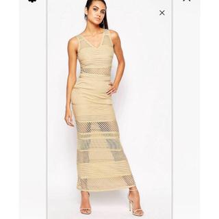 エイソス(asos)のasos  購入 Wow Couture マキシドレス タグつき新品(ナイトドレス)