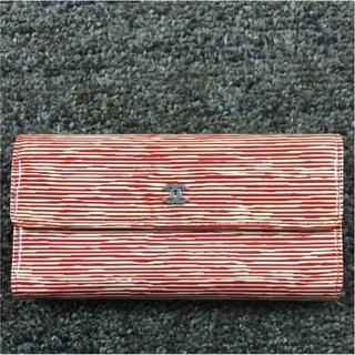 シャネル(CHANEL)のシャネル 長財布 赤×白(41146)(財布)