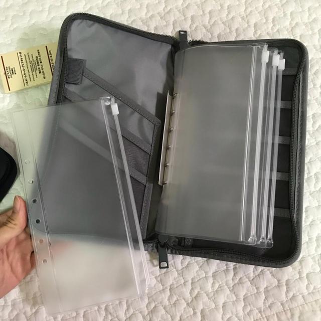MUJI (無印良品)(ムジルシリョウヒン)のパスポートケース♡リフィル追加1枚 レディースのレディース その他(その他)の商品写真