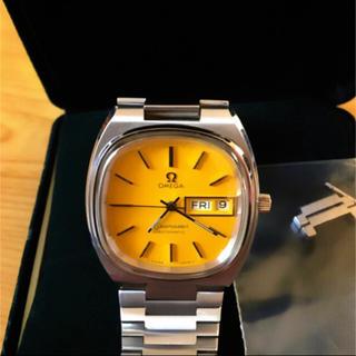 オメガ(OMEGA)の【底値】OMEGA オメガ シーマスター イエロー レア アンティーク 腕 時計(腕時計(アナログ))