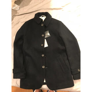 ムジルシリョウヒン(MUJI (無印良品))の無印mensジャケット  紺(新品)(ピーコート)