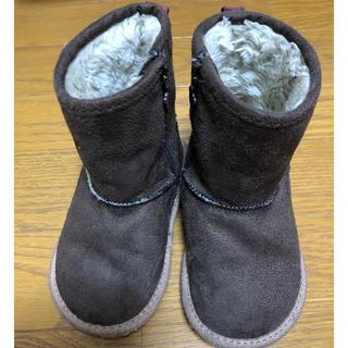 ファミリア(familiar)のファミリアムートンブーツ15cm(ブーツ)