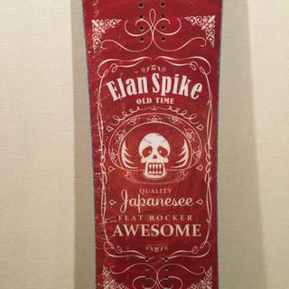 エラン(Elan)の板のみ 新品 ELAN SPIKE レッド (ボード)