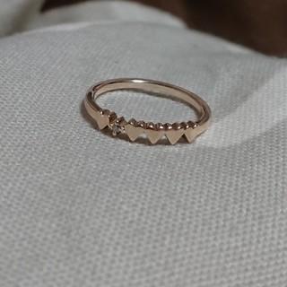 アガット(agete)のagete ピンキーリング(リング(指輪))