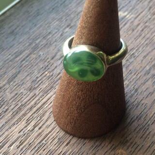 ロンドンフリマ購入♡クローバーリング(リング(指輪))