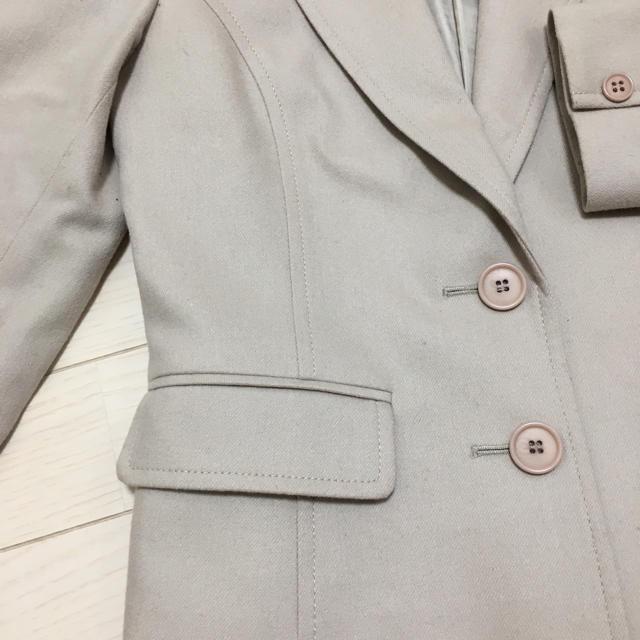 NATURAL BEAUTY BASIC(ナチュラルビューティーベーシック)の【琉球ミカン様専用】ナチュラルビューティーベーシック スカートスーツ XS 7号 レディースのジャケット/アウター(テーラードジャケット)の商品写真