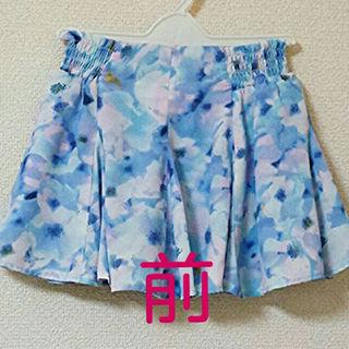 ジーユー(GU)の1シーズンのみ着用⤴美品!110cm☆夏にぴったり!ヒラヒラスカート(スカート)