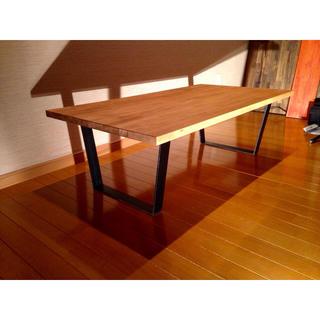 送料無料 アイアン ローテーブル センターテーブル インダストリアル 家具(ローテーブル)