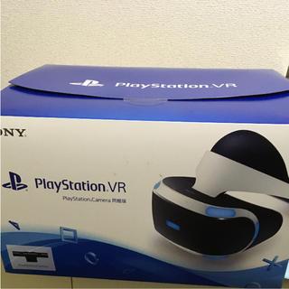 プレイステーションヴィーアール(PlayStation VR)の【新品】PlayStationVR PlayStation Camera同梱版 (家庭用ゲーム機本体)