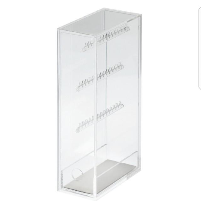 MUJI (無印良品)(ムジルシリョウヒン)の無印良品♥クリアケース(アクリルネックレス.ピアススタンド) インテリア/住まい/日用品の収納家具(ケース/ボックス)の商品写真