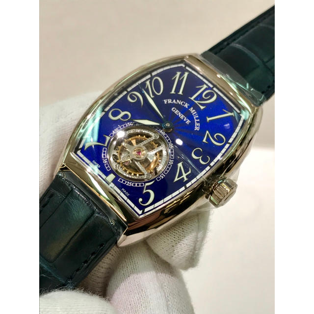 outlet store ea50a 0a2b8 正規品フランクミュラートゥールビヨンFM IMPERIAL TOURBILLON