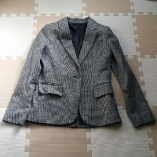 ナイン(NINE)のNine美品原価2万円・カシミヤ入りスーツ・テーラードジャケットF(テーラードジャケット)