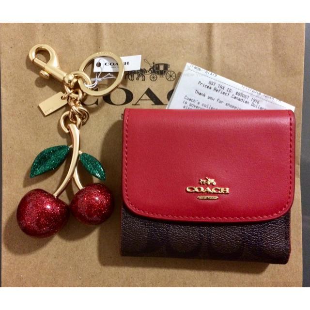 new style d7340 cd130 Sale! COACH ミニ財布とバッグチャームセット | フリマアプリ ラクマ