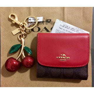 wholesale dealer a85dd 59fab Sale! COACH ミニ財布とバッグチャームセット
